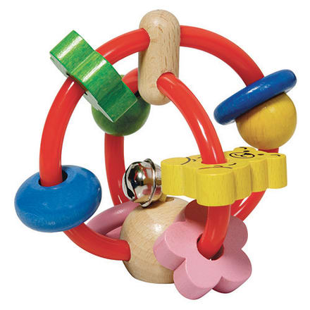 Stimulerende babylegetøj der er nemt at gribe efter