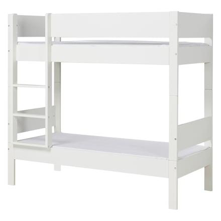 90 x 200 cm - Stabil etageseng til børneværelset med ekstra mellemrum