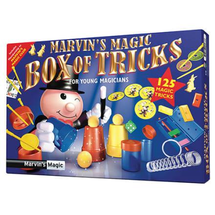 125 magiske tricks som den lille tryllekunstner kan fremføre