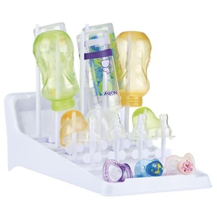 Praktisk tørreplads til sutteflasker, drikkekopper og suttehoveder