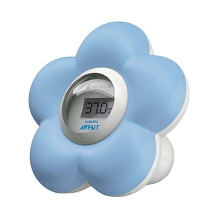 Måler temperaturen i bad og soveværelse