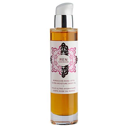 Kropsolie med marokkansk rosenolie