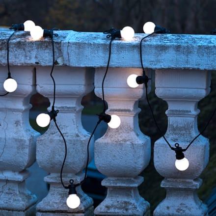 3 meter - 10 LED-pærer