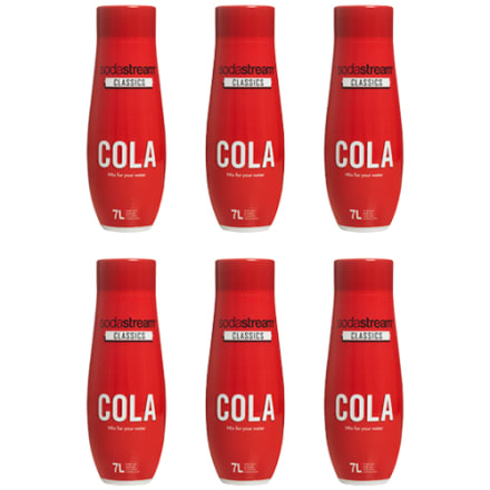 6 stk. - Cola - 0,44 liter