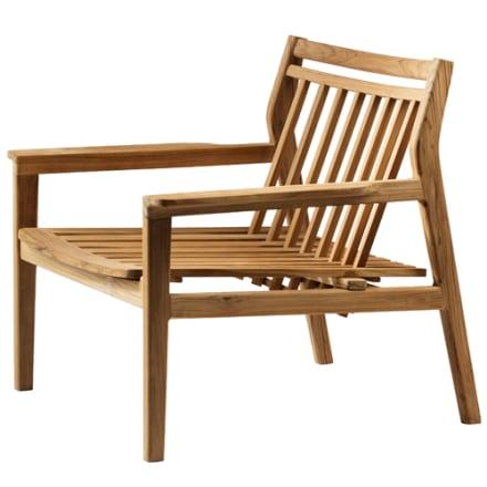 FDB Møbler - Innovativ og behagelig lænestol i teak