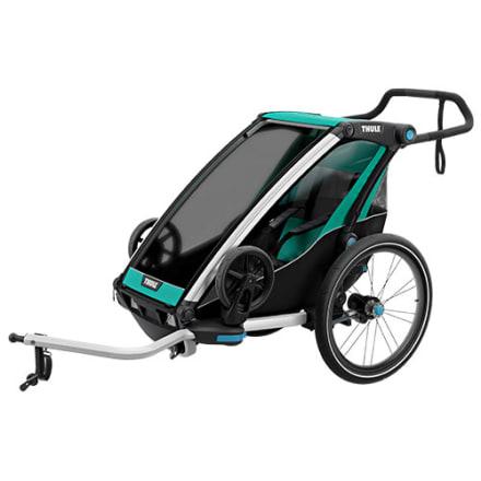 Cykeltrailer / klapvogn til 1 barn - Perfekt til den aktive familie