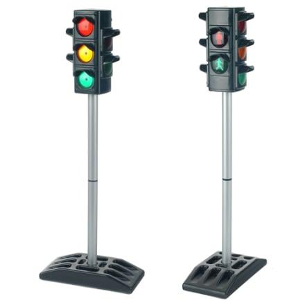 H 72 cm - Lær jeres motorbølle trafikreglerne med dette lyskryds