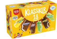 Glass klassikerlåda 18-pack