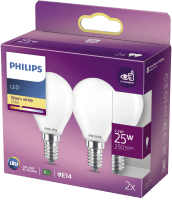 PHILIPS LEDLAMPA 2- PACK