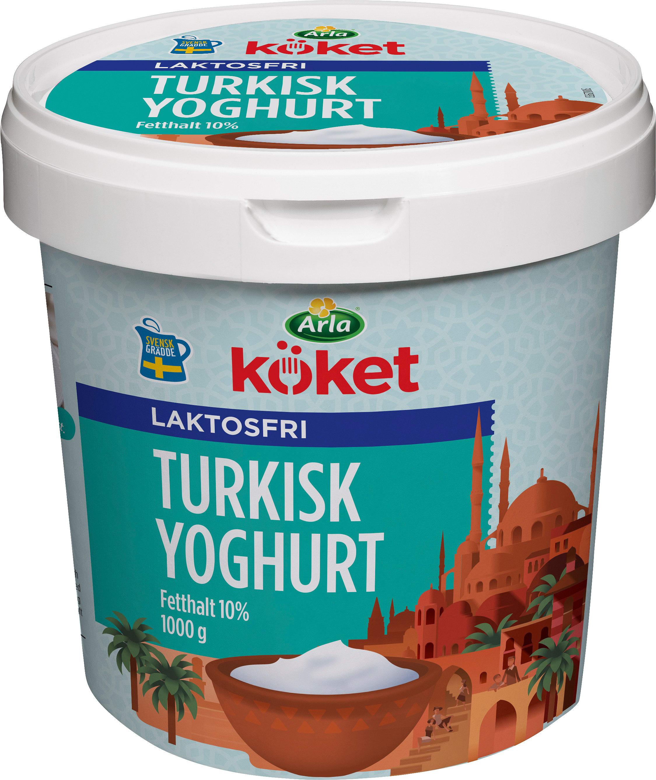 turkisk eller grekisk yoghurt