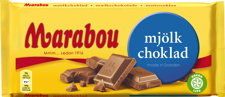 hur många kalorier innehåller en chokladkaka