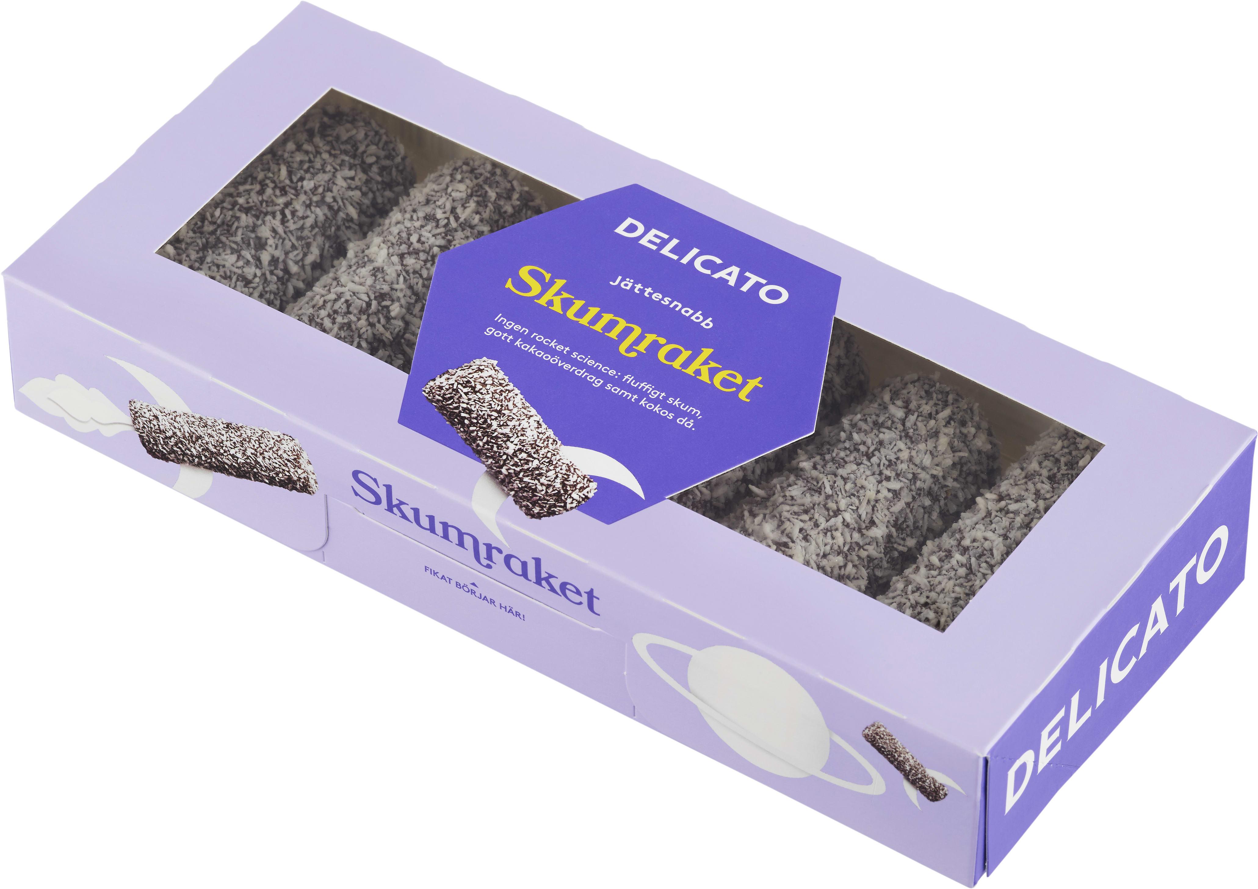 delicato chokladboll innehåll