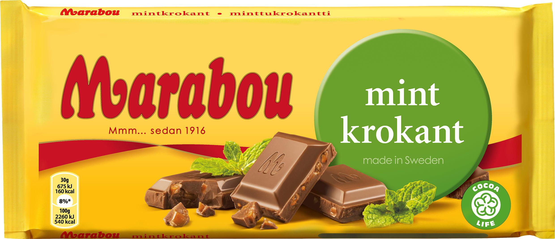 marabou mörk choklad kalorier