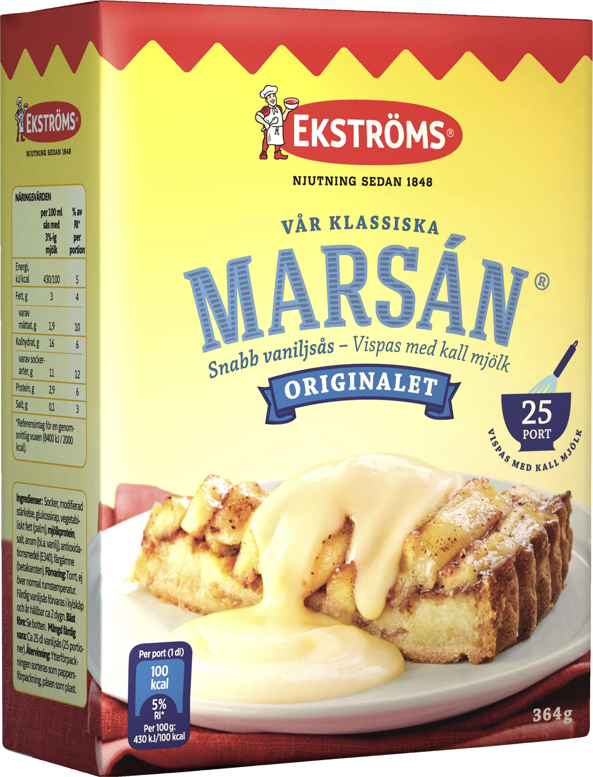 ekströms vaniljsås recept