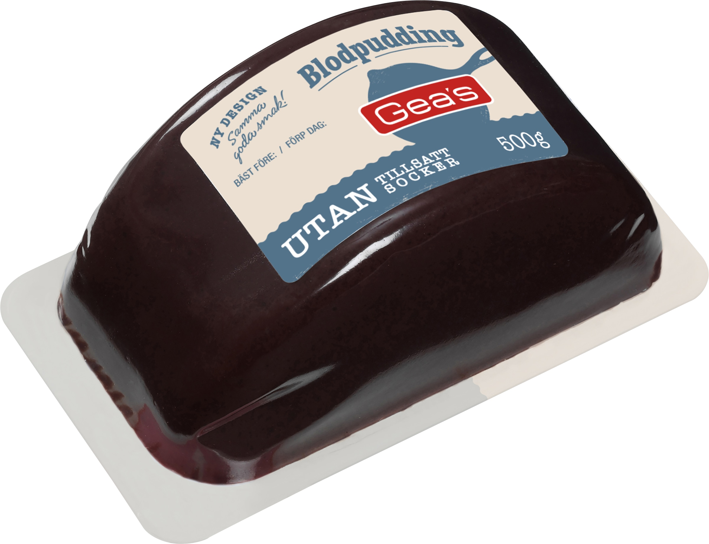 geas blodpudding utan socker