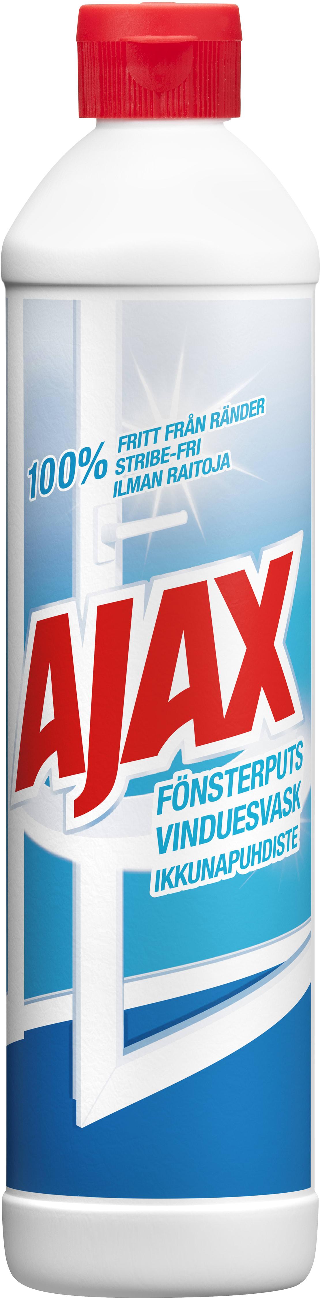 ajax fönsterputs innehåll