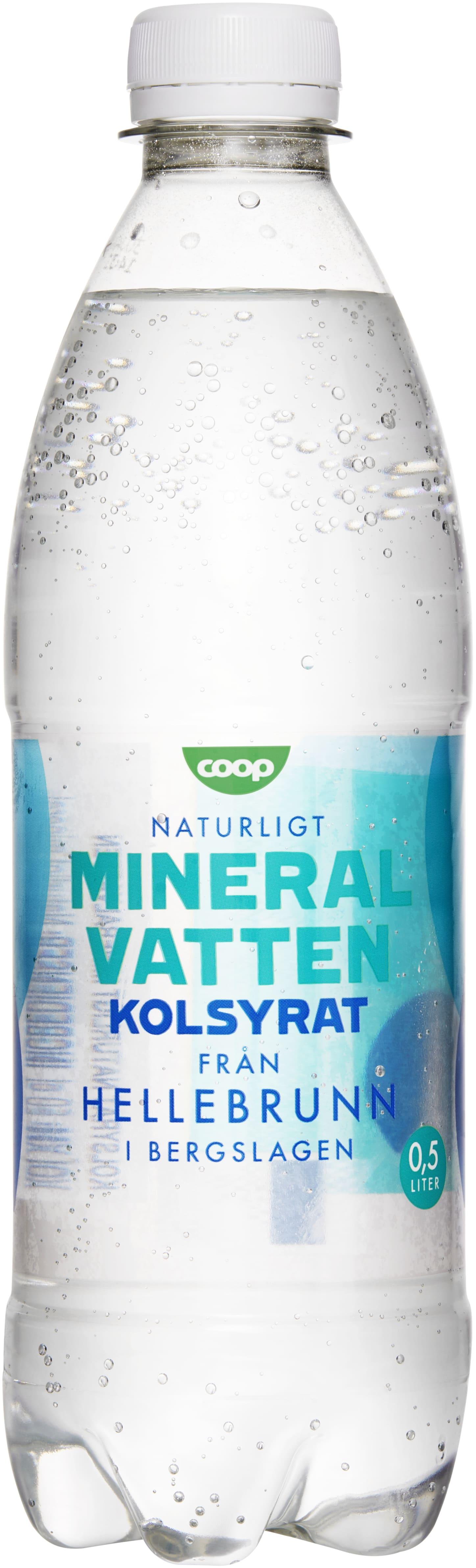 naturligt kolsyrat vatten