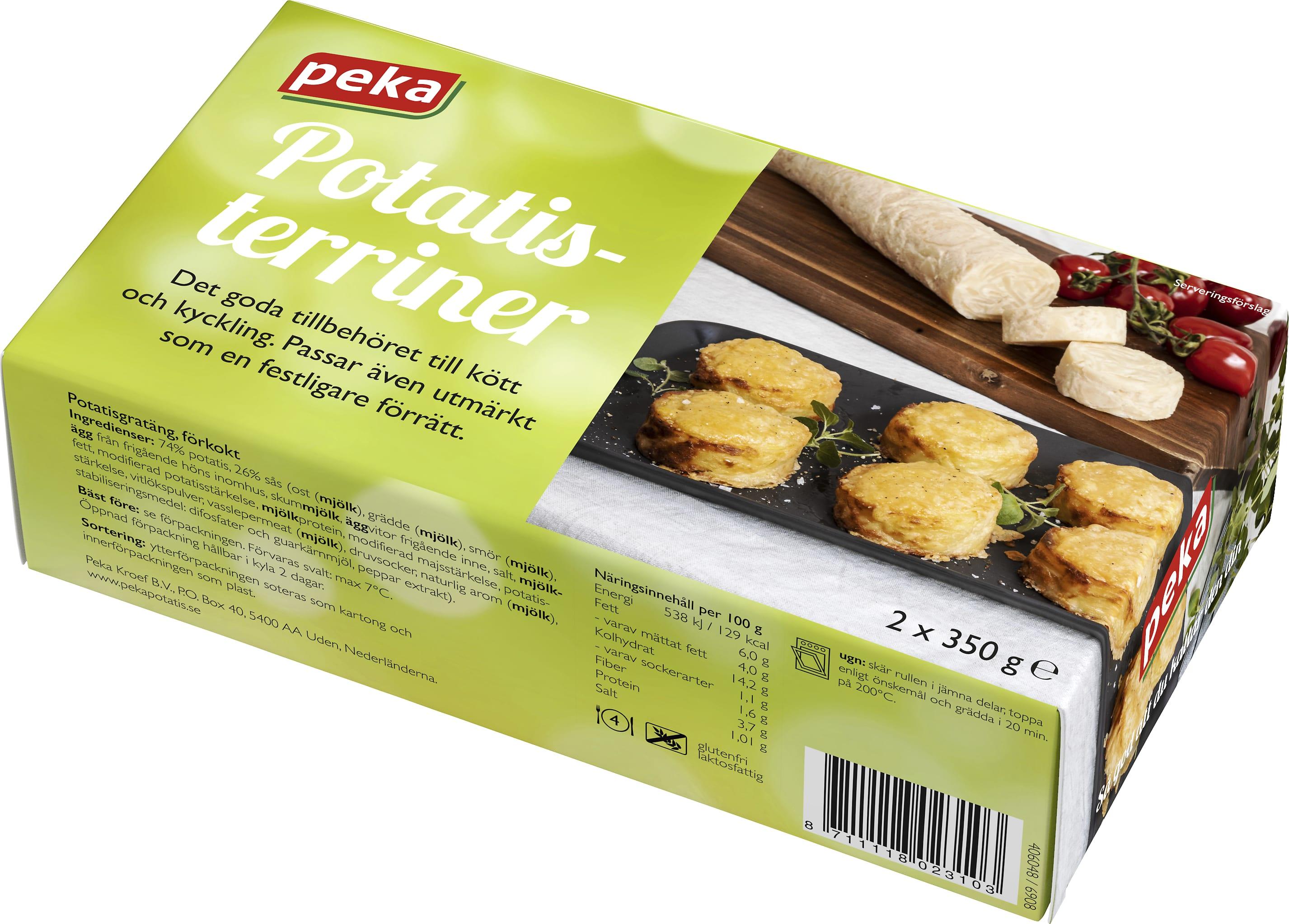 peka potatisgratäng recept