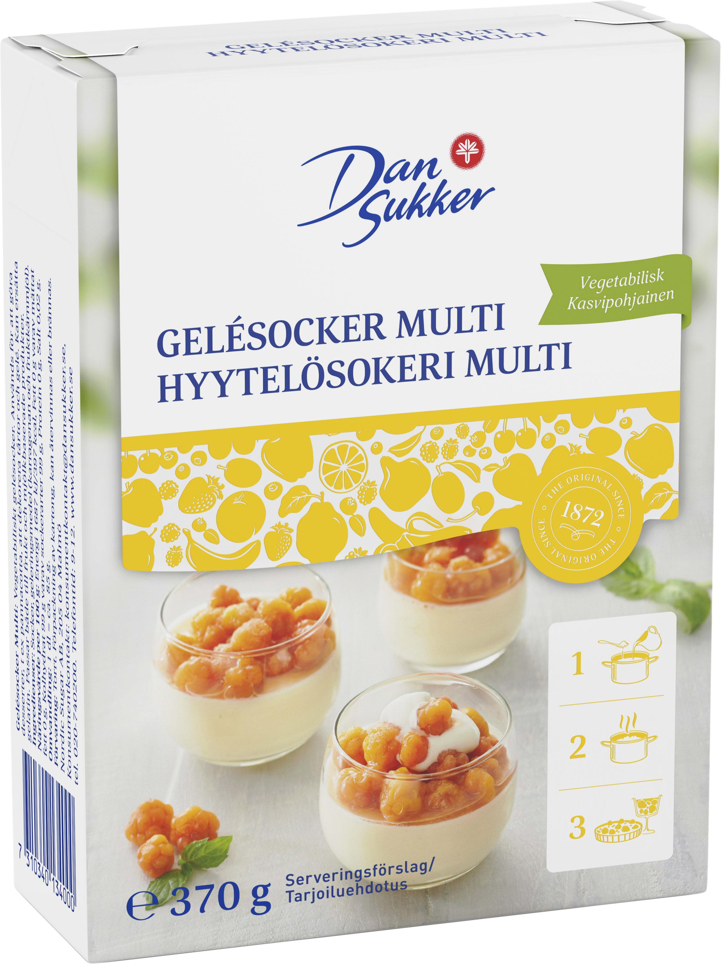 Gelesocker Multi - DAN SUKKER   Coop
