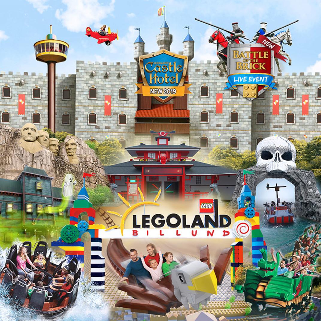 KAMPANJ - LEGOLAND® Barn entrébiljett 2 dagar (ord. poängpris 5 000p)