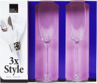Champagneglas 3-pack