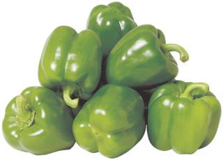 grön paprika
