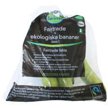 BANANPÅSE 800 G EKO FAIRTRADE