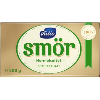 hur mycket kostar smör