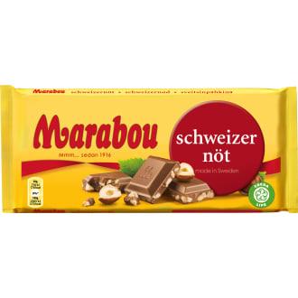 marabou schweizernöt tårta
