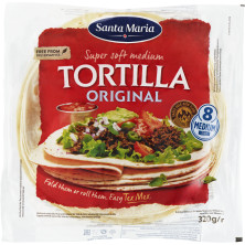 Soft Tortilla Original 8 st