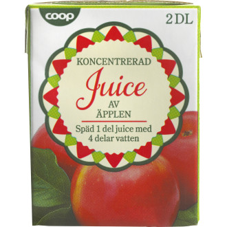 Äppeljuice Koncentrat