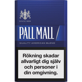 Pall Mall Blue Limpa