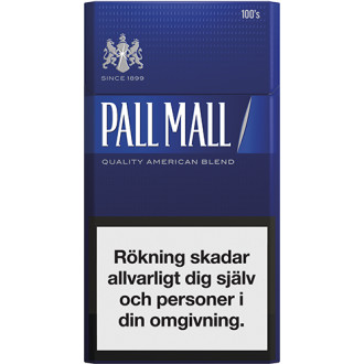 Pall Mall Blue 100S Limpa