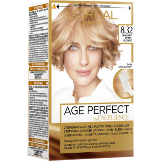 Age Perfect Hårfärg Radiant Pearl Blonde 8.32