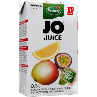 Jo Juice Äpple/Apelsin/Passion Koncentrerad