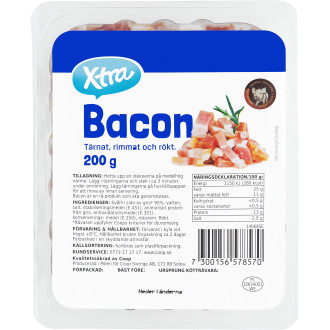 Bacon Tärningar