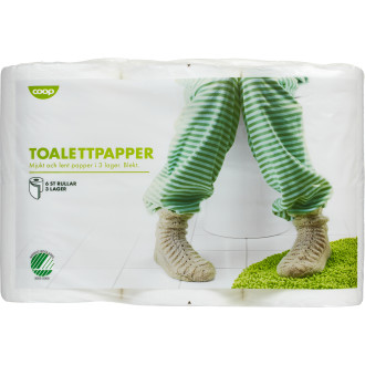 Toalettpapper 6-Pack