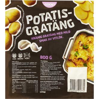 Glutenfri potatisgratäng färdig