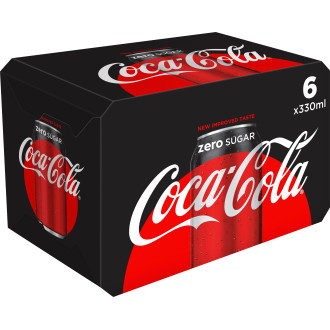 Coca-Cola Zero Sugar 6-Pack