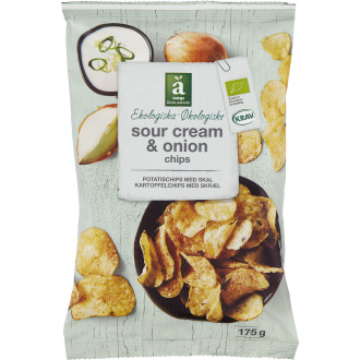 Chips Sourcream & Onion KRAV