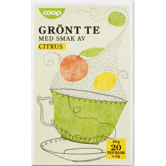 grönt te näringsinnehåll