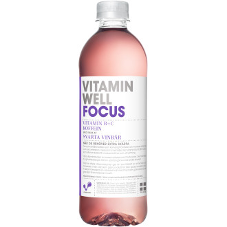 Vitamin Well Focus Svarta Vinbär