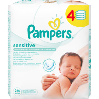 Sensitive Baby Wipes 4-Pack 114177a03eccb