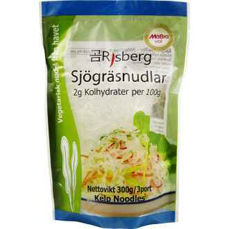 Sjörgräsnudlar Low Carb