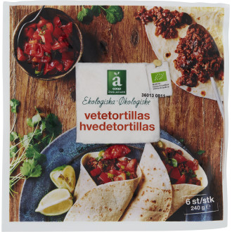 Vetetortillas 6 st EKO