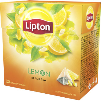Svart Te Lemon 20-Pack