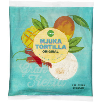 Mjuka Tortillas 6 st
