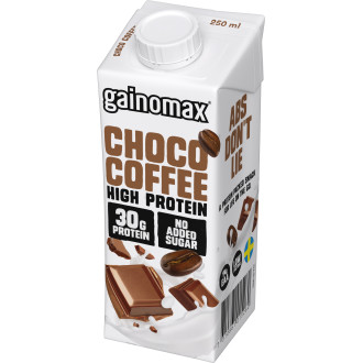 High Protein Drink Choco/Coffee Gainomax