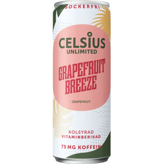 Sportdryck Grapefruit Breeze Celsius