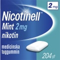 Nikotintuggummi Mint 2Mg 204-Pack